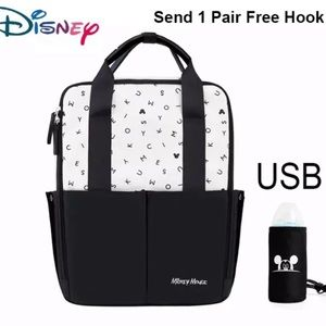 Mickey Mouse Mommy Diaper Backpack/Bottle Warmer.